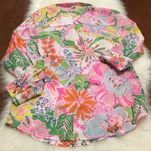Lilly Pulitzer for Target Tops - Lilly Pulitzer Target Nosey Posey Buttondown Top